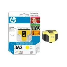 Origineel HP 363 inkt geel...