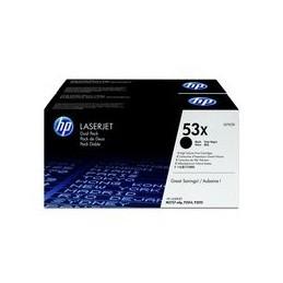 Origineel HP 53XD Laserjet Toner zwart standaard capaciteit 7.000 paginas 2er-Pack
