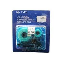 compatible Tapecassette voor Brother Tze131 zwart op helder van Huismerk