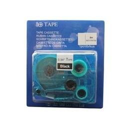 compatible Tapecassette voor Brother Tze345 wit zwart van Huismerk
