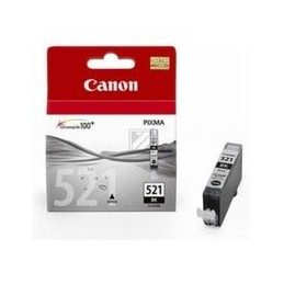 Origineel Canon Cli-521b Inkt Zwart Standaard Capaciteit 9ml 2.370 Paginas 1 Stuk