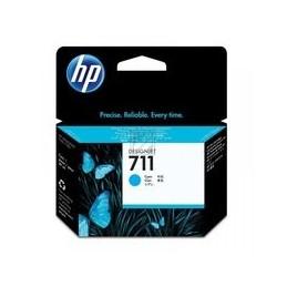 HP 711 Origineel Inkt Cyan Standaardkapazität 29ml 1 Stuk