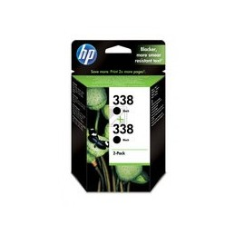 Origineel HP 338 Inkt Zwart Hoge Hoedanigheid 2 X 11ml 480 Paginas 2er-pack