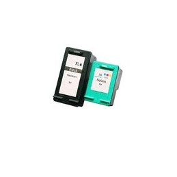 Set 2x Kompatibel Inkt Cartridge Voor HP 350xl-351xl Van Huismerk