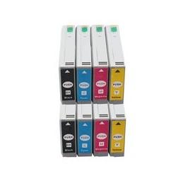 Set 8x Kompatibel Inkt Cartridge Voor Epson T7021-t7024 Van Huismerk