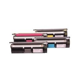 Set 4x Kompatibel Toner Voor Minolta Magicolor 2400 2500 Van Huismerk