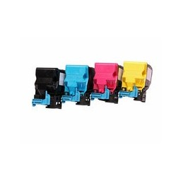 Set 4x Kompatibel Toner Voor Minolta Magicolor 4750 Van Huismerk