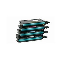 Set 4x Kompatibel Toner Voor Samsung Clp610 Clp660 Van Huismerk