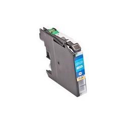 Kompatibel Inkt Cartridge Voor Brother Lc225xl Cyan (met Chip) Van Huismerk