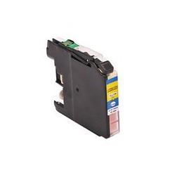 Kompatibel Inkt Cartridge Voor Brother Lc225xl Geel (met Chip) Van Huismerk
