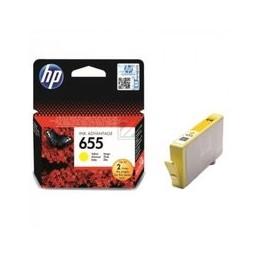 Origineel HP 655 Inkt Geel Standaard Capaciteit 600 Paginas 1 Stuk