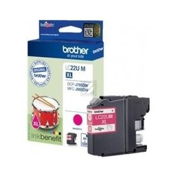 Origineel Brother Lc-22um Inkt Cartridge Magenta