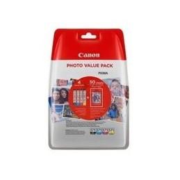 Origineel Canon Cli-571xl C-m-y-bk + Foto Papier Cyan Magenta Geel Zwart Xl Inkt Tanks 4x6 Fotopapi