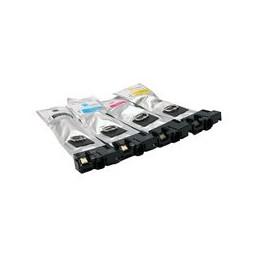 Set 4x Kompatibel Inkt Cartridge Voor Epson T9441-t9444 Wf-c5210dw Van Huismerk