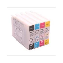 Set 4x Kompatibel Inkt Cartridge Voor Epson T04b1 - T04b3 Wfc8190 Van Huismerk
