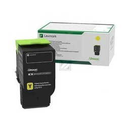 Origineel Lexmark C242xy0 Geel Extra High Yield Terugkeerprogramma Toner Cartridge