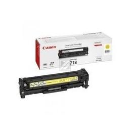 Origineel Canon 718 Toner Geel Standaard Capaciteit 2.900 Paginas 1 Stuk