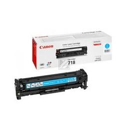 Canon 718 Toner Cyan Standaardkapazität 2.900 Paginas 1 Stuk