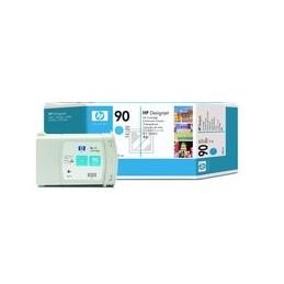 HP 90 Origineel Inkt Cyan Standaardkapazität 400ml 1 Stuk