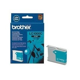Brother Lc-1000 Inkt Cyan Standaardkapazität 400 Paginas 1 Stuk