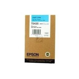 Origineel Epson T5435 Inkt Light Cyan Standaard Capaciteit 110ml 1 Stuk