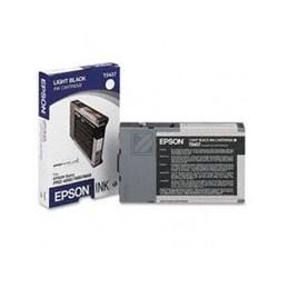 Origineel Epson T5437 Inkt Grijs Standaard Capaciteit 110ml 1 Stuk