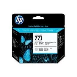 Origineel HP 771 Printkop Zwart En Light Grijs Standaard Capaciteit 1 Stuk