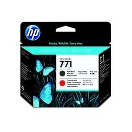 HP 771 Origineel Printkop Mat Zwart En Chromatisch Rood Standaardkapazität 1 Stuk