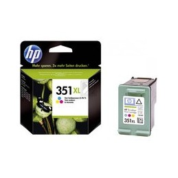 Origineel HP 351xl Inkt Tri-color Hoge Hoedanigheid 14ml 580 Paginas 1 Stuk