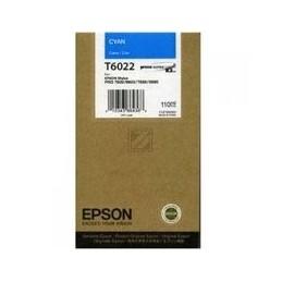Epson T6022 Inkt Cyan Standaardkapazität 110ml 1 Stuk