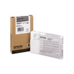 Origineel Epson T6057 Inkt Light Zwart Standaard Capaciteit 110ml 1 Stuk