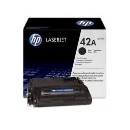 Origineel HP 42a Laserjet Toner Zwart Standaard Capaciteit 10.000 Paginas 1 Stuk