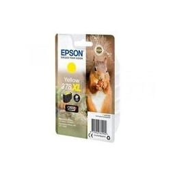 Origineel Epson Singlepack Geel 378xl Squirrel Clara Foto Hd Tinte