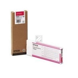 Origineel Epson T6063 Inkt Magenta Standaard Capaciteit 220ml 1 Stuk