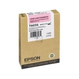Origineel Epson T6056 Inkt Vivid Light Magenta Standaard Capaciteit 110ml 1 Stuk