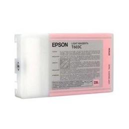 Origineel Epson T603c Inkt Light Magenta Standaard Capaciteit 220ml 1 Stuk