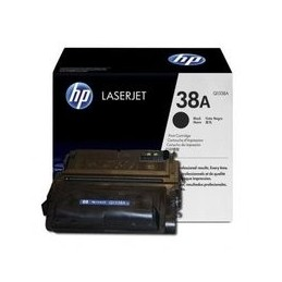 Origineel HP 38a Laserjet Toner Zwart Standaard Capaciteit 12.000 Paginas 1 Stuk