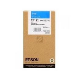 Epson T6112 Inkt Cyan Standaardkapazität 110ml 1 Stuk