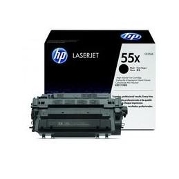 Origineel HP 55x Laserjet Toner Zwart Standaard Capaciteit 12.500 Paginas 1 Stuk