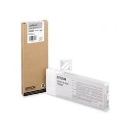 Origineel Epson T6067 Inkt Light Zwart Standaard Capaciteit 220ml 1 Stuk