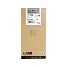 Origineel Epson T5969 Inkt Light Zwart Standaard Capaciteit 350ml 1 Stuk