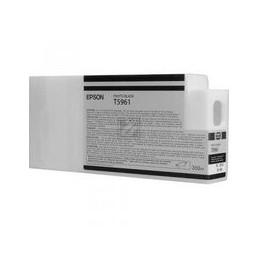 Origineel Epson T5961 Inkt Foto Zwart Standaard Capaciteit 350ml 1 Stuk