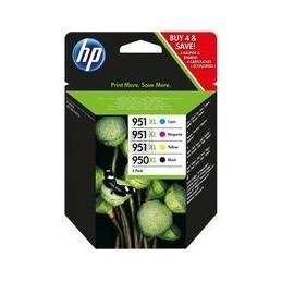 Origineel HP 950xl-951xl Inkt Zwart En Tri-color Hoge Hoedanigheid Multipack