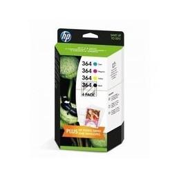 Origineel HP Inkt Cartridge 10 Paginas Multipack Geel Cyan Magenta Zwart (j3m82ae)