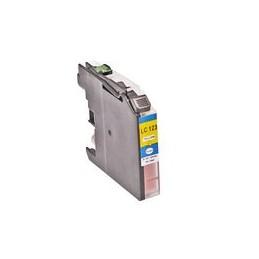 Kompatibel Inkt Cartridge Voor Brother Lc121xl Lc123 Geel (met Chip) Van Huismerk