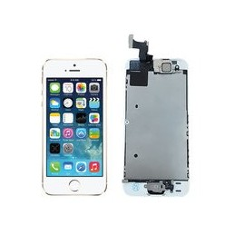 Lcd Display Voor Apple Iphone 5s Wit