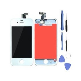 Lcd Display Voor Apple Iphone 4 Wit