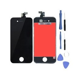 Lcd Display Voor Apple Iphone 4 Zwart