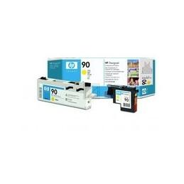 Origineel HP 90 Printkop En Printkopreiniger Geel Standaard Capaciteit 1 Stuk
