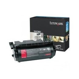 Origineel Lexmark T63x Toner Zwart Hoge Hoedanigheid 21.000 Paginas 1 Stuk